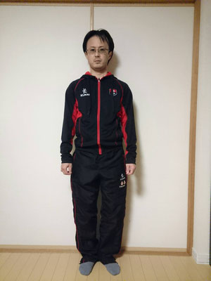 ライトウェイトパーカー(XS) Tracksuit Pants:S(Inside leg:SHORT)