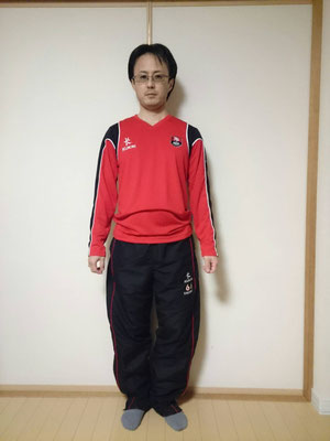 ロングスリーブ Tシャツ(XS) Tracksuit Pants:S(Inside leg:SHORT)