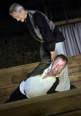 """aus: """"Shakespeare in Love"""" 2021 (mit: Werner Landsgesell) - Foto (c) R. Winkler"""