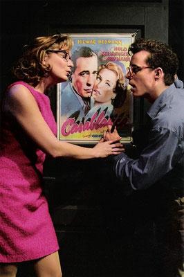 """aus: """"Casablaca - oder: wie ein Musical entsteht"""", 2003 (mit: Nicole Malangré)"""