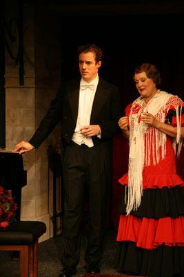 """aus: """"Glorious!, 2007 (mit Doris Bierett)"""