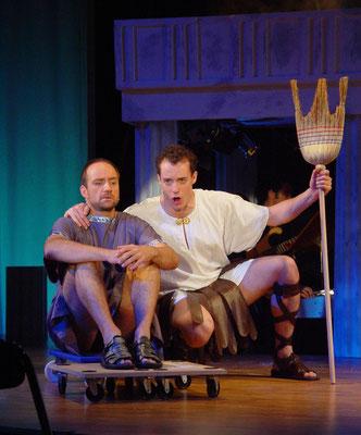"""aus: """"Odysseus fährt irr"""", 2005 (mit Leon van Leeuwenberg) - Foto (c) Sam Madwar"""
