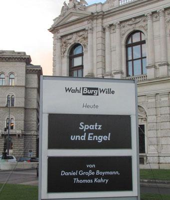 """""""Spatz und Engel"""" im Burgtheater, Wien"""