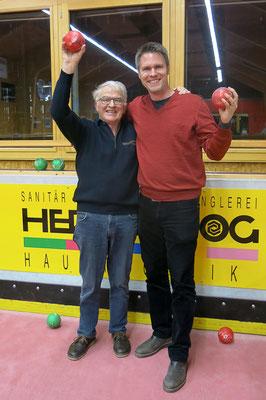 Hier das Siegerbild mit Toni & Mirko