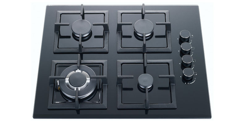 DAN64GTG 60cm Gas Glass Cooktop $490