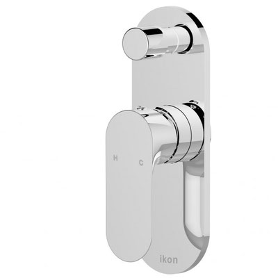 HYB22-501 Banda Bathroom Wall Mixer With Diverter