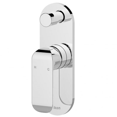 HYB11-501 Kara Bathroom Wall Mixer With Diverter