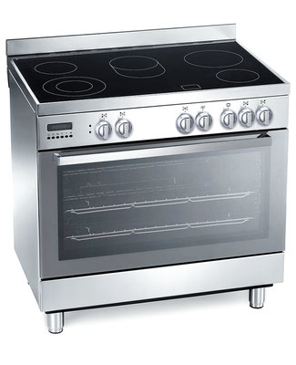 DAN95CE 90cm Ceramic Upright Freestanding Cooker $1950