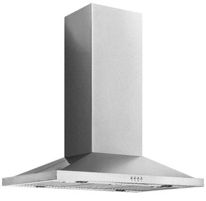 DAN9IC 90cm Island Stainless Steel Canopy Rangehood $650