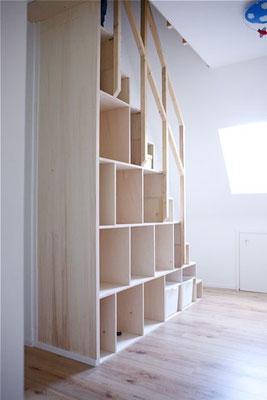 Trapkast: oplossing voor krappe ruimte!