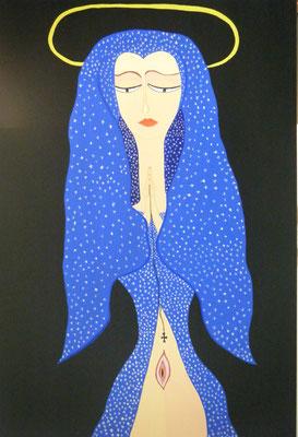 Madeleine Acrylique sur toile 116x96cm Collection particulière