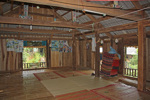 primitieve paalwoning