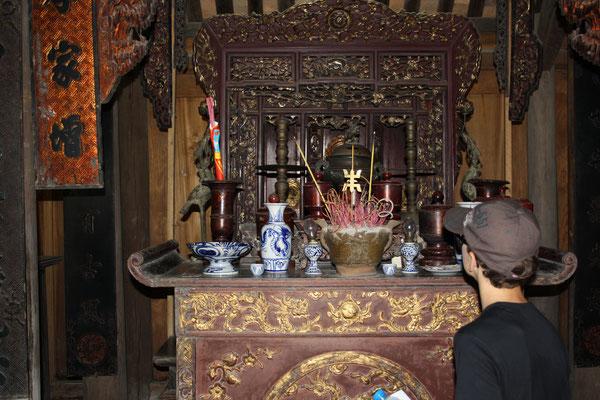 tempeltje in het etnologisch museum