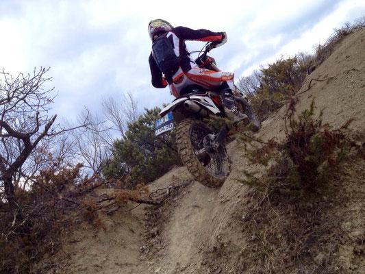 Enduro uphill