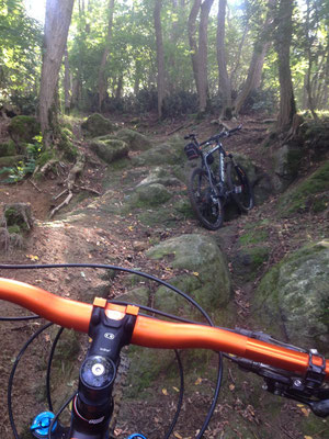 MTB hard trail