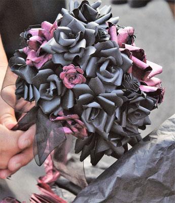 Bouquet thème gothique