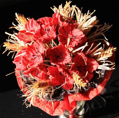 Bouquet thème champêtre