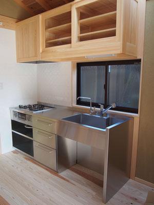 W2100キッチン 吊り戸棚