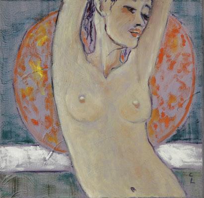 """""""Lust"""", Öl auf Leinwand, 40x40cm, 2020"""