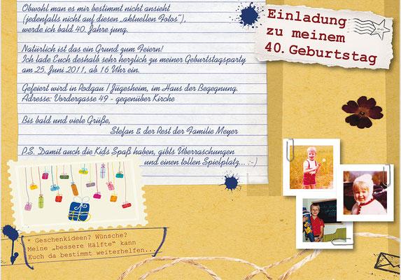 Einladungen & Karten zum Geburtstag von Ideenreich Grafikdesign