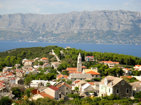 Дом и апартаменты на Браче, отдых с детьми в Хорватии, старый город и песчаный пляж