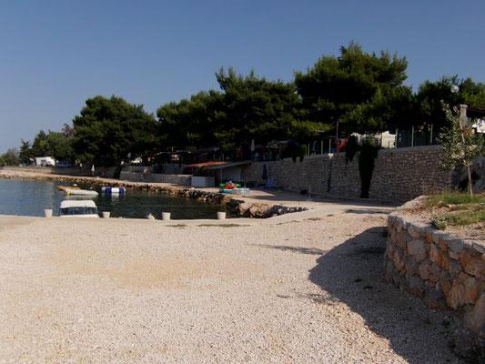 Дом рядом с Задаром, первый ряд от моря, отдых с детьми в Хорватии