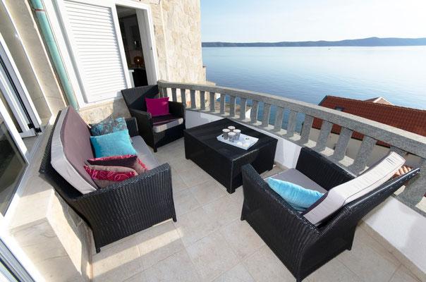 Апартаменты в Драшнице люкс, Макарска ривьера. Отдых с детьми в Хорватии.