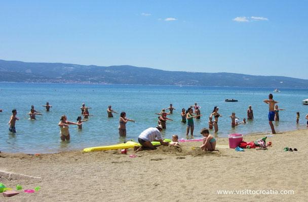 Печаные пляжи в Хорватии
