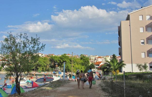 Комфортные апартаменты с видом на море на Чиово, Округ Горный, отдых с детьми.