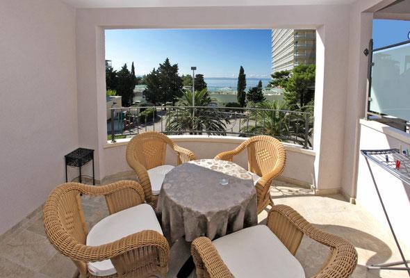 Апартаменты виллы в Макарска (Makarska) Хорватия.