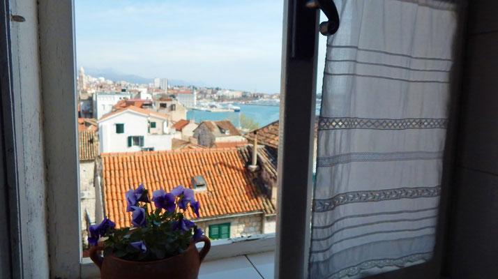 Апартаменты Сплит Варош центр, с видом на море