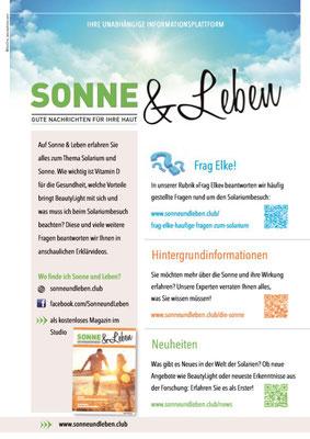 Sonne & Leben Broschüre 11
