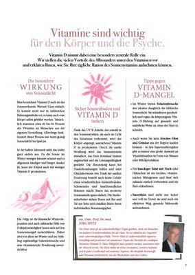 Sonne & Leben Broschüre 7