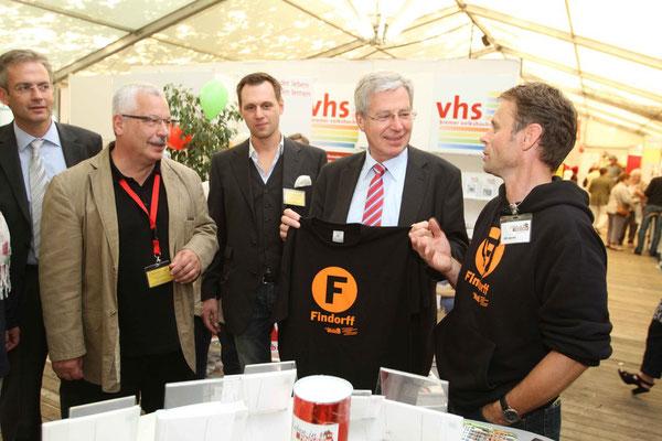 Bürgermeister Böhrnsen ist ein bekennender Findorff-Anhänger!