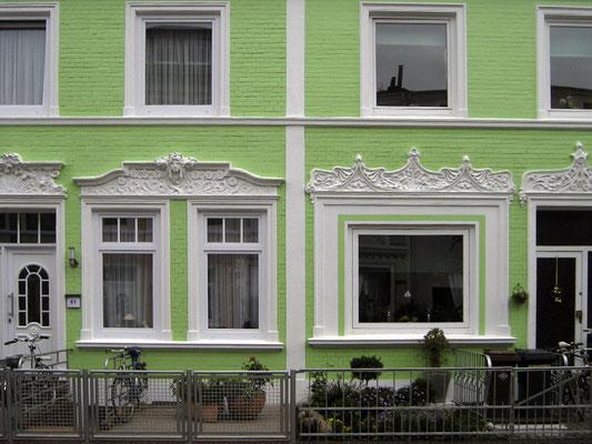 Typische Hausfassade im Stadtteil. © Ulf Jacob, Leben in Findorff
