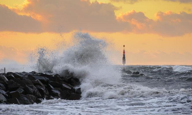 Schlechtwetter, Hafen Lohme , Herbst 2017