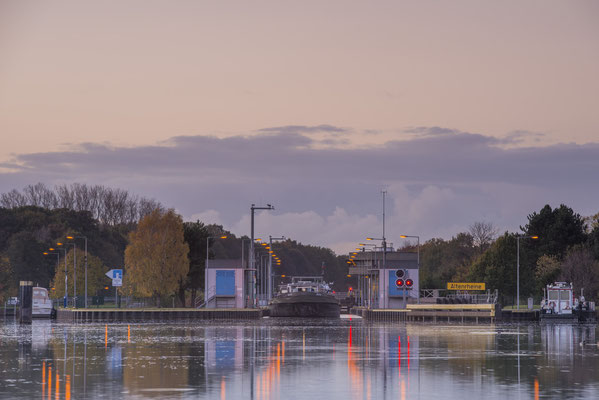 Rheine Altenrheine Schleuse DEK