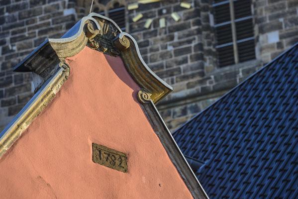 Rheine Altstadtdetail (Giebel Rizz)