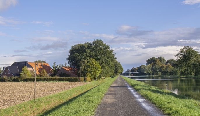 Rheine DEK Leinpfad Richtung Exeler Brücke