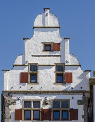 Rheine - Giebel des Beilmannschen Hauses.