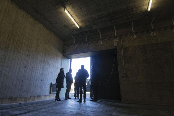 Bunkerbesichtigung