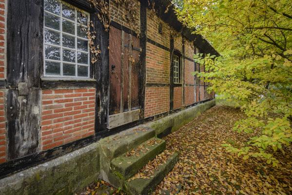 Rheine - Salziedehaus Bentlage im Herbst.