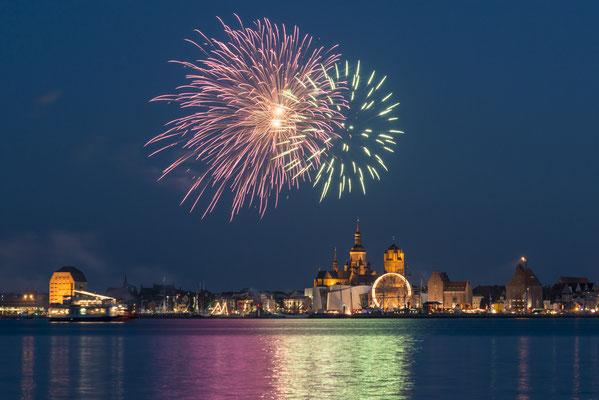 Stralsund, Blick von Altefähr