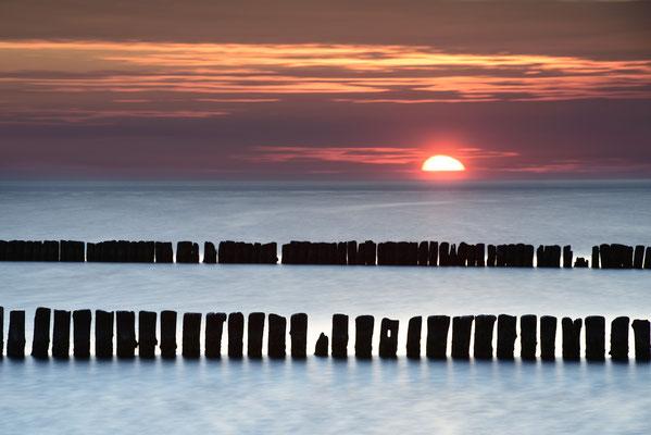 Sonnentergang bei Dranske