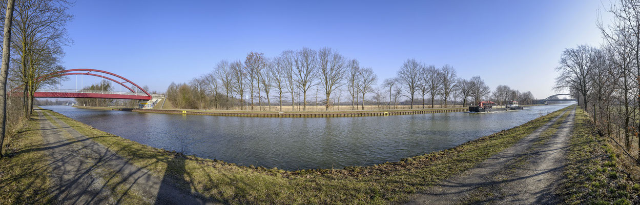 Rheine - Der Dortmund-Ems-Kanal in Altenrheine.