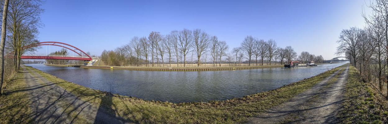 Rheine Der Dortmund-Ems-Kanal in Altenrheine