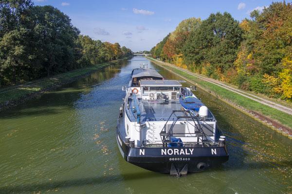 Rheine Kanalhafen DEK Richtung Norden