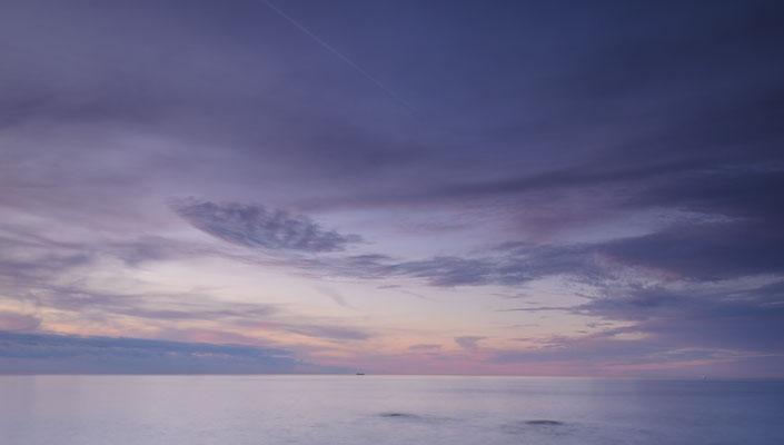 Abendhimmel über der Ostsee bei lohme