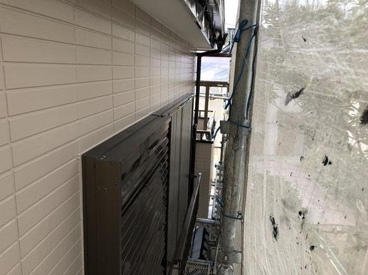 住宅外壁塗装 窓上