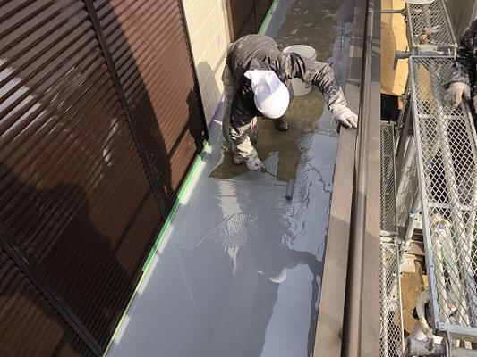 ウレタン防水層塗布